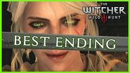 Witcher 3 - THE BEST ENDING - Ciri Becomes a Witcher
