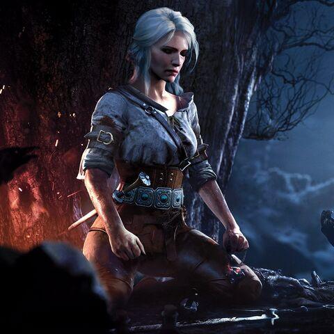 Цірілла, промо-зображення до гри «Відьмак 3: Дикий Гін»