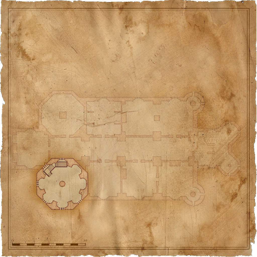Map Kaer Morhen Triss room