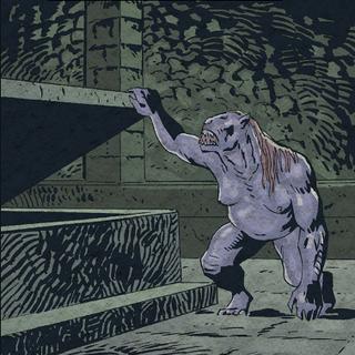 Адда у вигляді Стриґи в коміксі «Відьмак: Прокляття Воронів».