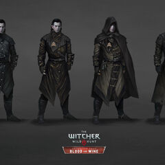 Concept art of alternative versions