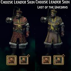 Gwent leader skins front