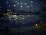 """""""Starry Night Over the Pontar"""""""