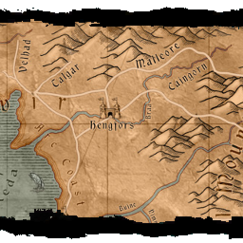 Карта Крейдена