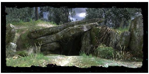 Grotte au sud des faubourgs