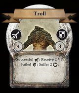 Twag monster card troll