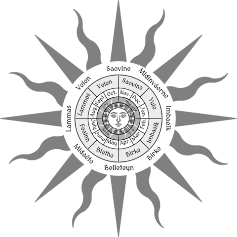 Cult of Great Sun is associated with the solar calendar