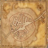 Map Old Vizima barricades