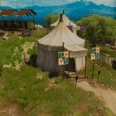 Prince's tent