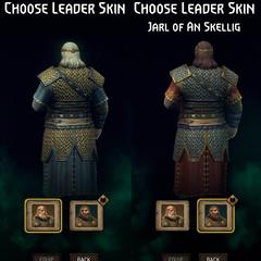 Gwent leader skin back