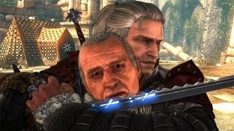 Nilfgaard Must Pay Geralt Kills Embassador Shilard Fitz-Oesterlen (The Witcher 2
