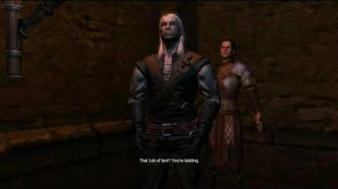 The Witcher - Geralt in dungeon