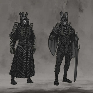 Concept thumbnails for Imlerith's gear.