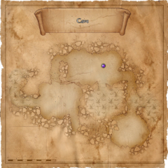 Map of the Swamp cave