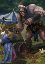 Gwent cardart neutral one-eyed betsy