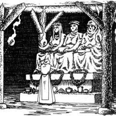 Культ Мелітеле в Відьмак: Гра Уяви