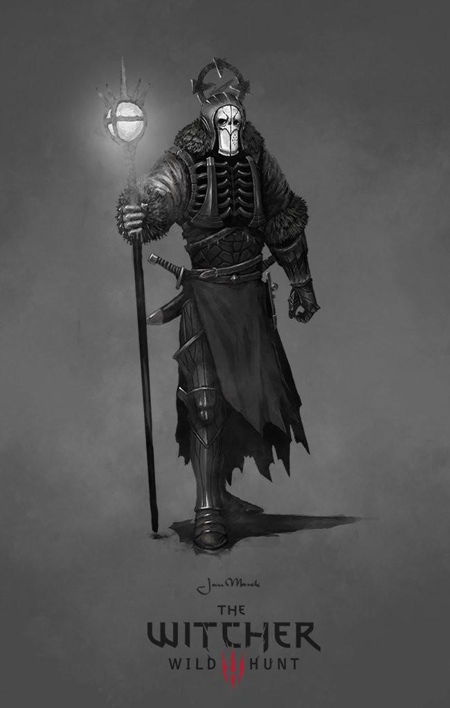 Image tw3 concept art witcher wiki - Caranthir witcher ...