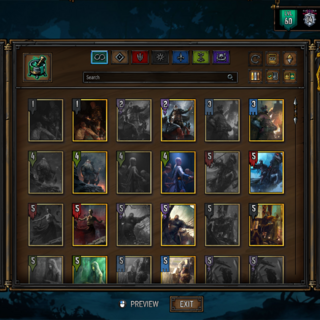 Updated deck builder and collection viewer