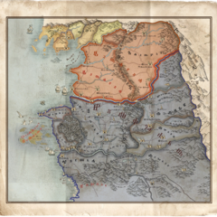 World map in <i>The Witcher 3</i>