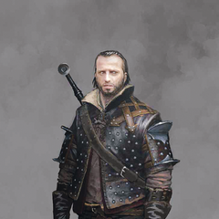 Concept art for Lambert in the Witcher 3