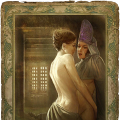 A twosome of nurses for a threesome with Geralt