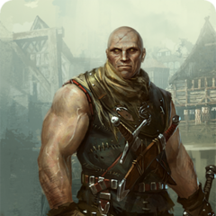 Letho's gwent card art
