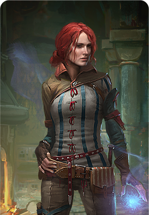 Tw3 cardart neutral triss