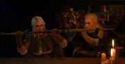 Geralt's gift to Ciri