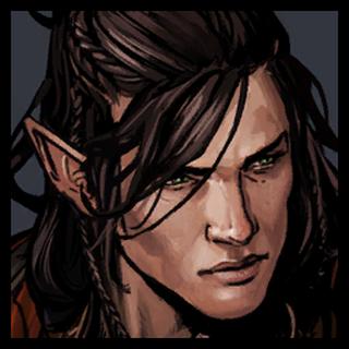 Iorveth before getting his scar