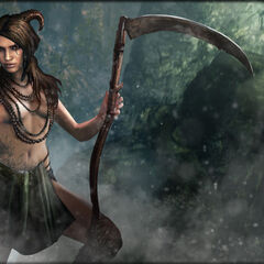 Succubus depicted in <i>The Witcher Battle Arena</i>.