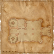 Map Kaer Morhen ground floor