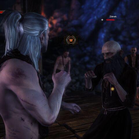 Zdenek in The Witcher 2 full render