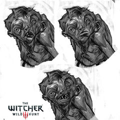 Concept art for <i>The Witcher 3</i>