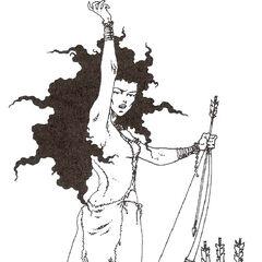 a tree sorceress