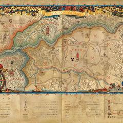 Долина Понтару на мапі «Відьмак 2: Вбивці Королів»