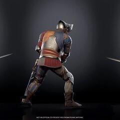 Lyrian Knight armor