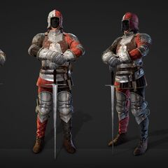 Redanian plate armor