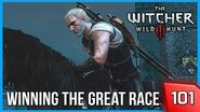 Witcher 3 -The Grand Erasmus Vegelbud Horse Race - Story & Gameplay 101 PC