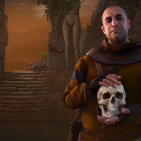 Ґонтер О'Дімм, шпалери доповнення до «Відьмак 3: Дикий Гін», «Серця з каменю»