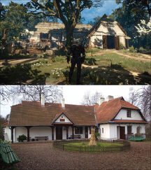 Brunwich inn Rydlowka Manor comparison