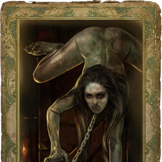 Romance card art in <i>The Witcher</i>
