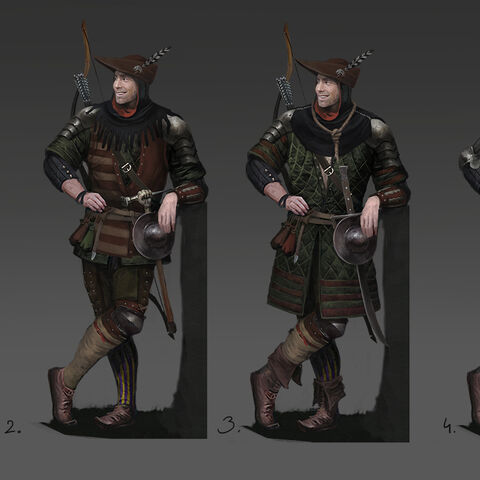 Гаскон, концепт-арти до гри «Кровна війна: відьмацькі історії»