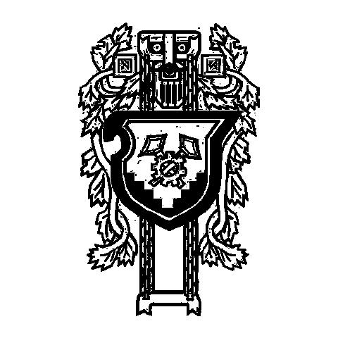 Herb miejski Vergen w oficjalnym Artbooku do gry Wiedźmin 2: Zabójcy Królów