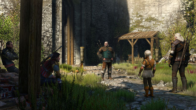 File:TW3 Young Ciri and witchers.jpg