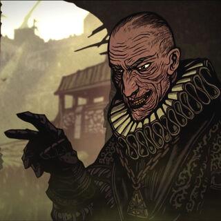 Shilard in a cutscene