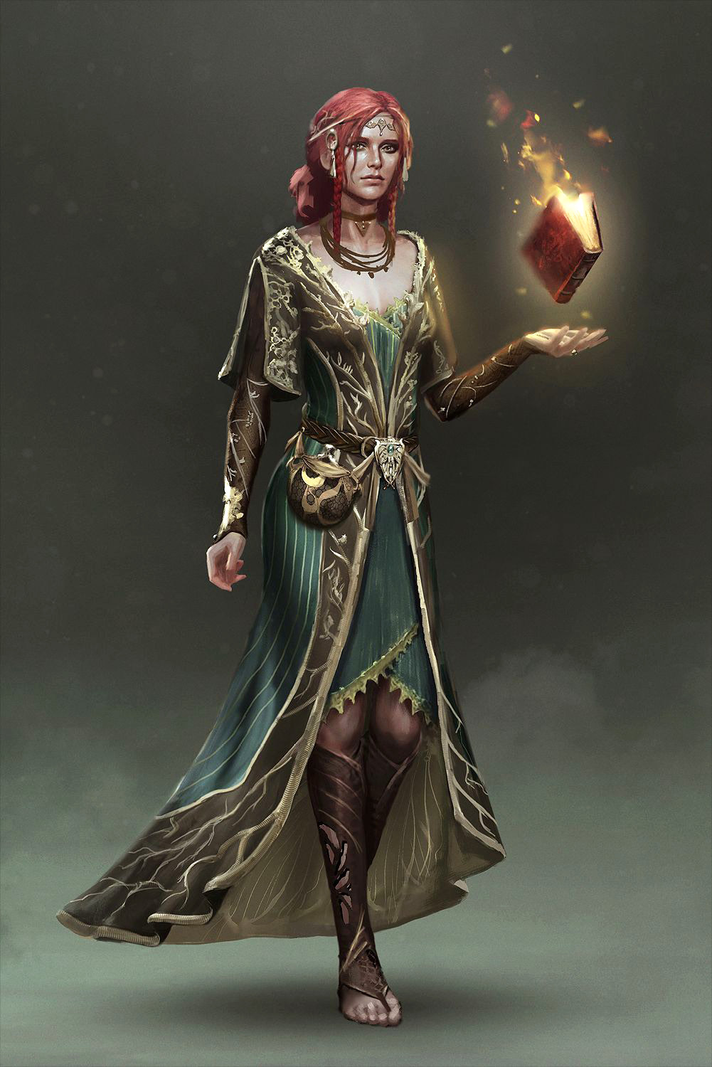 TW3 alternative Triss concept