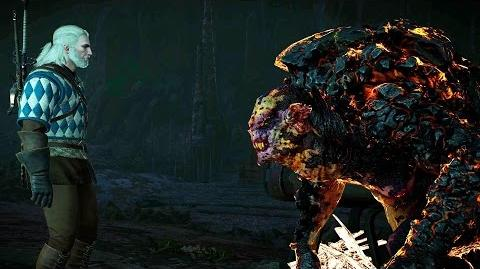 The Witcher 3 Wham-a-Wham Rock Troll (Hard Mode)