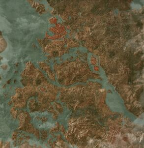 Map Velen HoS