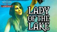 The Witcher 3 Blood and Wine - Lady of the Lake Cameo