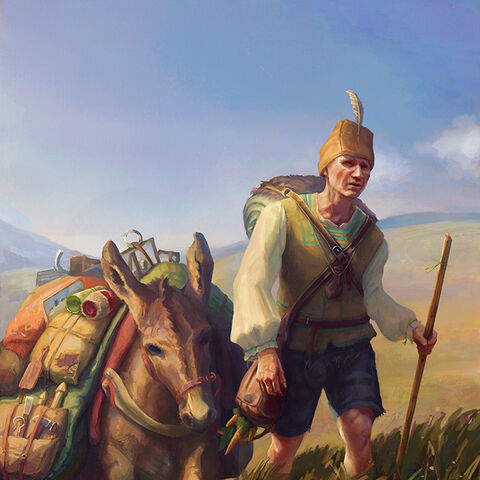 Travelling merchant